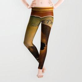 SAY NICE THINGS ABOUT DETROIT Leggings