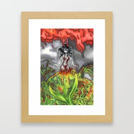 Degrowth Framed Art Print