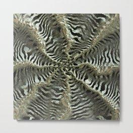 Quantum Leap Weave Wave Metal Metal Print