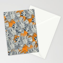 fish mirage turmeric Stationery Cards