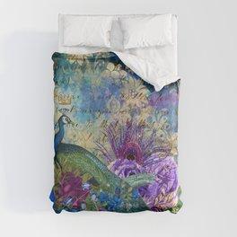 The Royal Peacock Comforters