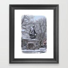 Tennyson in the Snow Framed Art Print