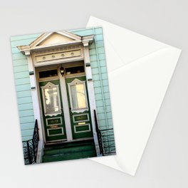 Main Entrance, Not Built For Comfort... Stationery Cards