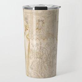 "Edward Burne-Jones ""Chaucer's 'Legend of Good Women' - Hypsiphile And Medea"" Travel Mug"