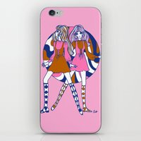 woodstock iPhone & iPod Skins featuring Woodstock Dollygirls by Emily Brinkley