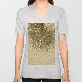 Cali Summer Vibes Lady Glitter #1 #shiny #decor #art #society6 Unisex V-Neck