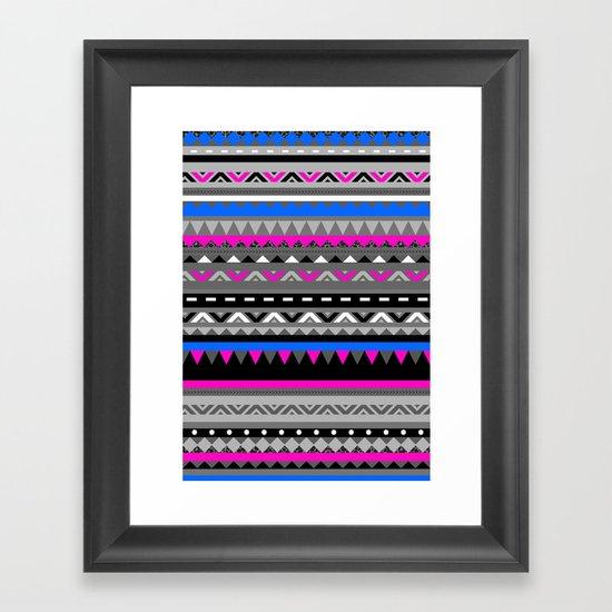 DONOMA ▲ BLUES Framed Art Print