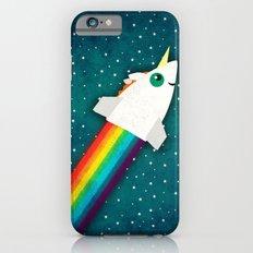 Unicorn Rainbow Rocket Slim Case iPhone 6