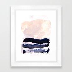 S U R F Framed Art Print
