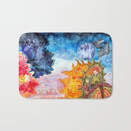 The tale of the sun and moon Bath Mat