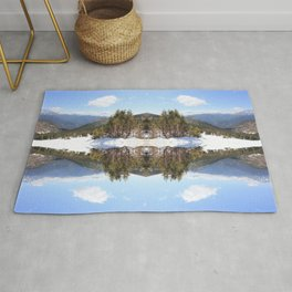 Snowside | Colorado Mountains Rug