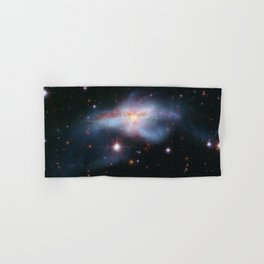 Pair of colliding galaxies called NGC 6240 Hand & Bath Towel