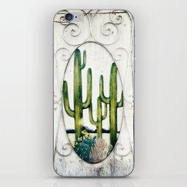 Cactus Door, Montreal iPhone Skin