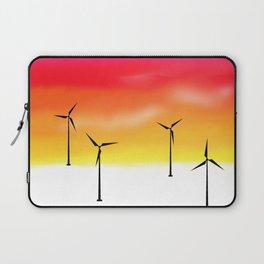 Texas Windmills Vers. 2 Laptop Sleeve