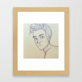 The Merman Framed Art Print