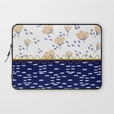 Stitched poppies Laptop Sleeve