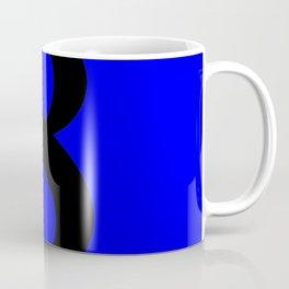 8 (BLACK & BLUE NUMBERS) Coffee Mug