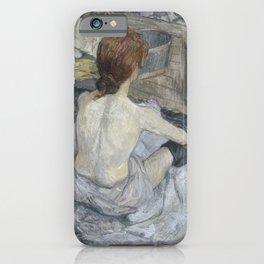 Henri de Toulouse-Lautrec - Rousse iPhone Case