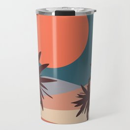 Abstract Landscape 13 Portrait Travel Mug