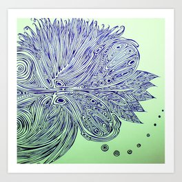 fertilization  Art Print