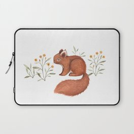 Furry Squirrel Laptop Sleeve