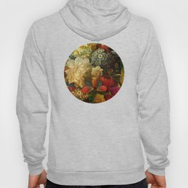 """Baroque Spring of Flowers and Butterflies"" Hoody"