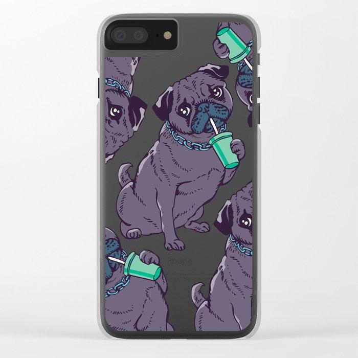 U Mad  Bro Clear iPhone Case