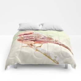 Ode To A Vermillion Flycatcher Comforters
