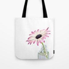 delicate single daisy flower Tote Bag