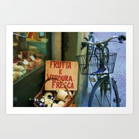 gone to the market Art Print