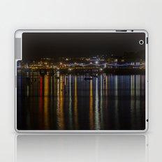 Prince of Wales Pier at Night Laptop & iPad Skin