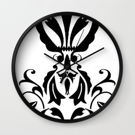 "Princess: The ""Frog Prince"" Story - Cool Graphic Design Grunge Wall Clock"
