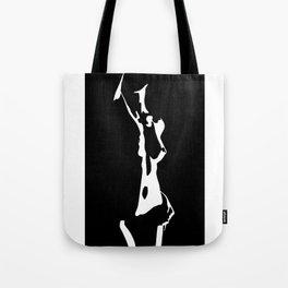 Naked Shadow Tote Bag