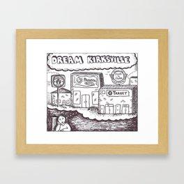 dream kirksville Framed Art Print