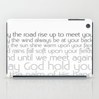 irish iPad Cases featuring Irish Blessing by this is team kismet