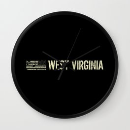 Black Flag: West Virginia Wall Clock