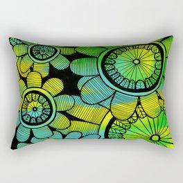 Big Floral 2 Rectangular Pillow