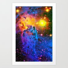 Fox Fur Nebula II Art Print