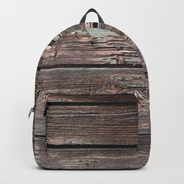 Aged Wood rustic decor Backpack