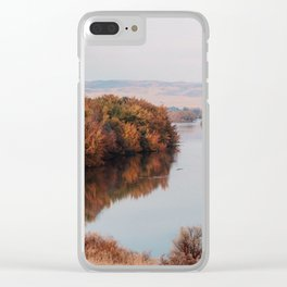 Riverside Drive Clear iPhone Case