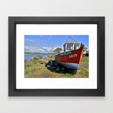 High Island Framed Art Print