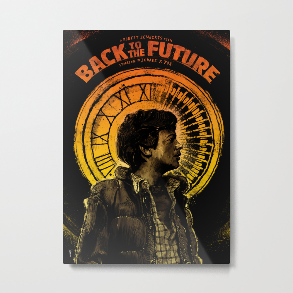 Back To The Future: Marty Mcfly Metal Art by Danknorris MTP3581350