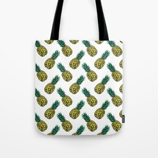 Neo-Pineapple - Pineapple Tote Bag