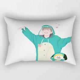 Dinosaur Chimmy (Ver. 2) Rectangular Pillow