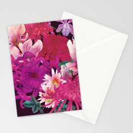 Magnolia and Chrysanthemum Stationery Cards