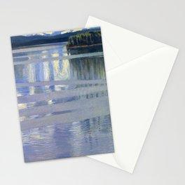 Akseli Gallen-Kallela - Lake Keitele - Digital Remastered Edition Stationery Cards