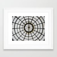 milan Framed Art Prints featuring Milan by Alev Takil