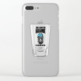 Harambe Clear iPhone Case