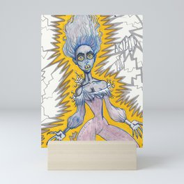 Shocked Mini Art Print