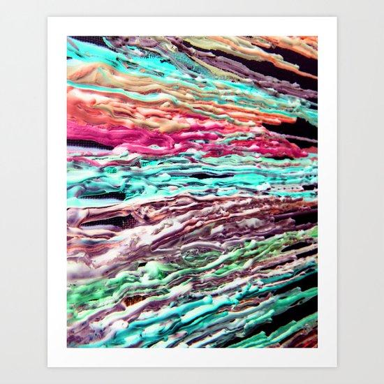 Wax #5 Art Print